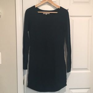 NWT Ann Taylor Loft Sweater Dress, Dark Green, S